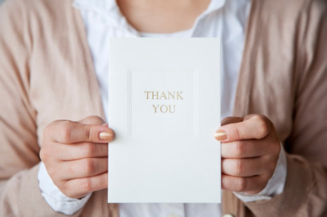 Sense of Gratitude