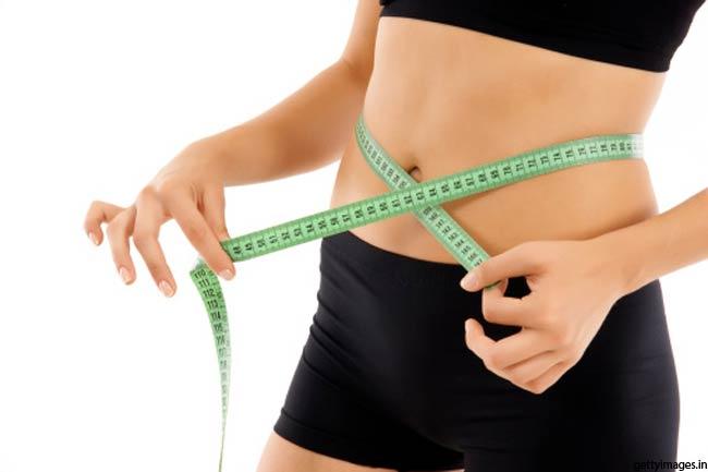 वजन कम करे