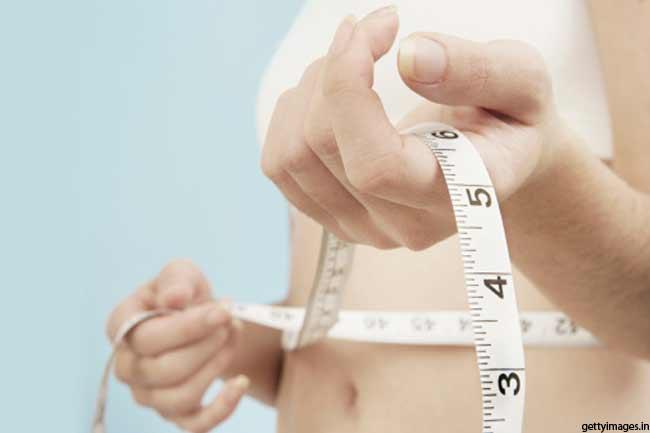 वजन में उतार-चढ़ाव