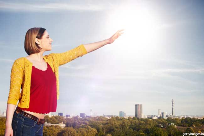 सूरज की रोशनी का कमाल