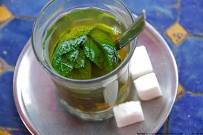 पुदीना चाय