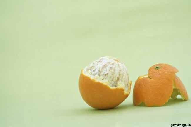 संतरे के छिलके का पैक