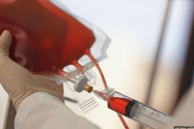 सात फीसदी रक्त
