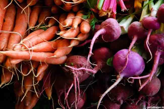 गाजर और चुकंदर