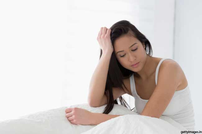 थकान या नींद के कारण