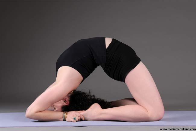 Kapotasana improves your libido and your performance