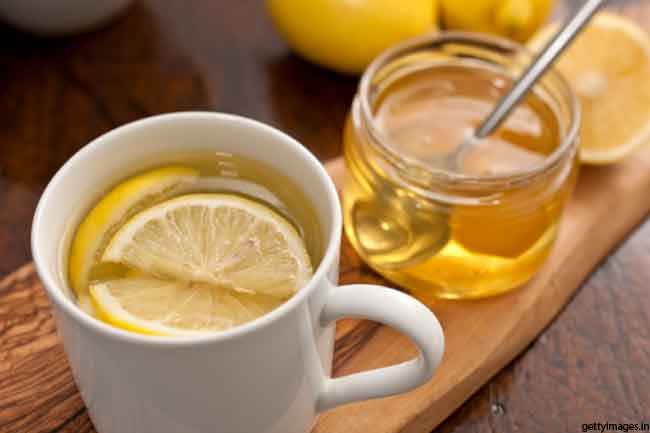 Lemon Honey Syrup