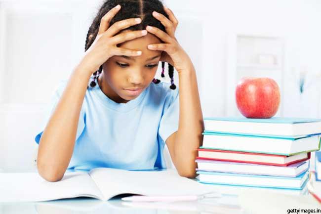 परीक्षा के दौरान तनाव