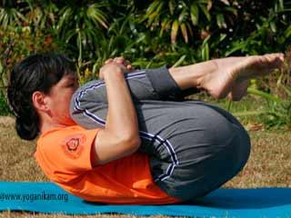 डायबिटीज़ में योगा- पवनमुक्तासना