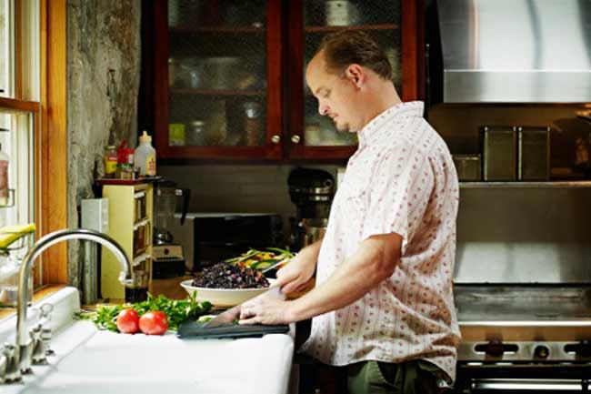 घर पर खाने का नियम