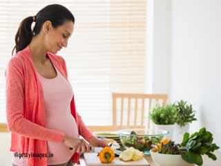पहली तिमाही के दौरान स्वस्थ आहार