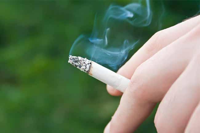 धूम्रपान की आदत