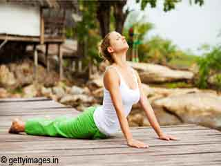 Yoga for Eyes - Bhujangasana