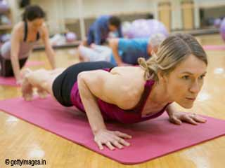 The Plank Pose Yoga to Reduce Belly Fat