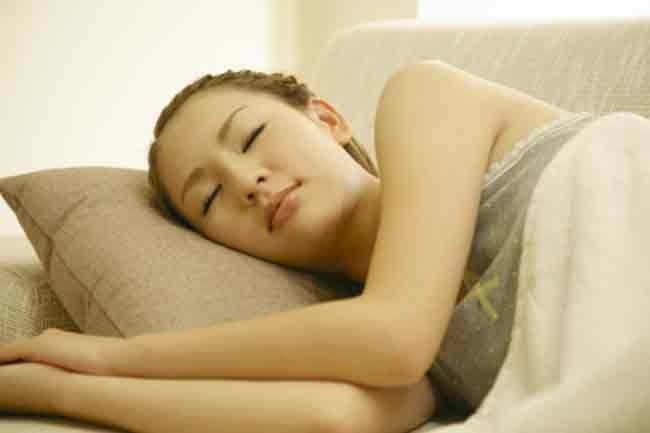 गहरी नींद में सुधार