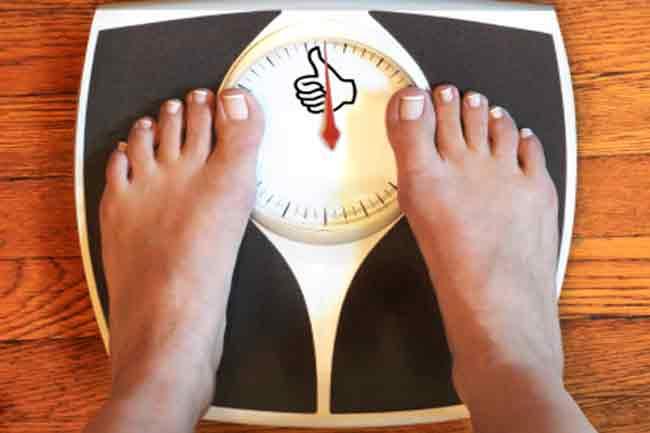 वजन कम करने में