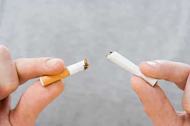 धूम्रपान छोड़ने में