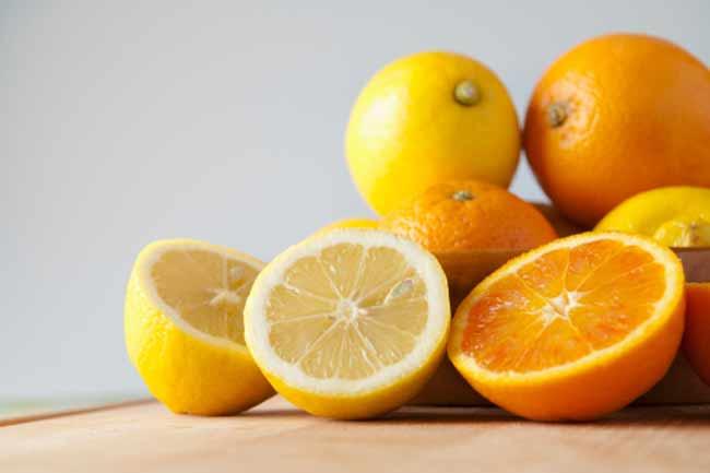 नींबू और संतरा