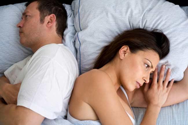 सेक्स पर असर