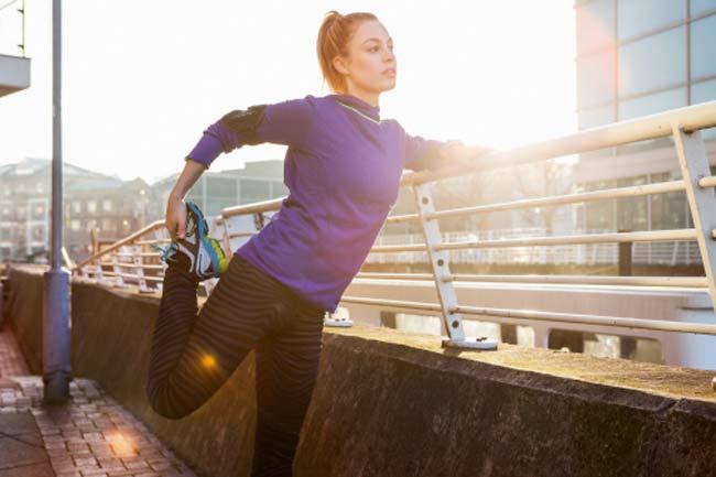 व्यायाम से पहले स्ट्रेच न करें