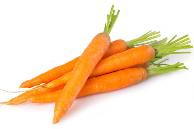 Carrots and Sweet Potatoes