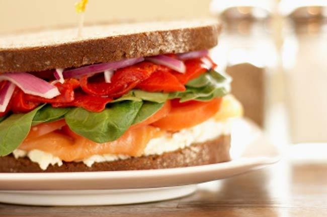 Whole Wheat Tuna Fish Sandwich