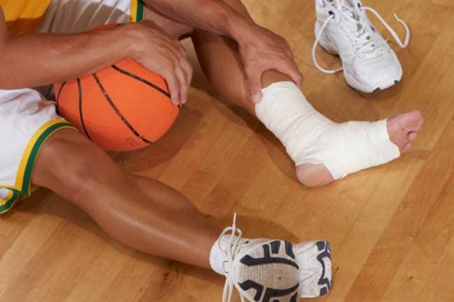 पैर या टखने की चोट