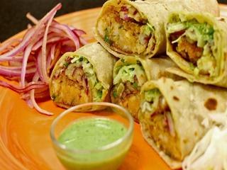 कैसे बनाएं वेज काठी कबाब