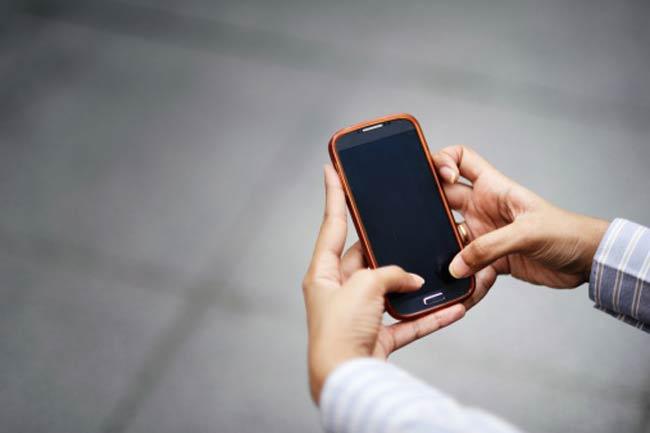 मोबाइल रखें