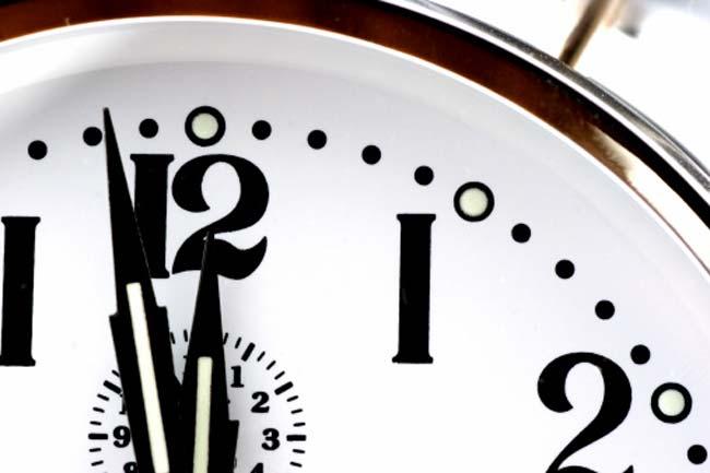 समय का निर्धारण है बेहद जरूरी