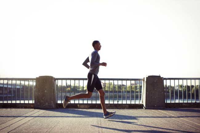 दौड़ के फायदे