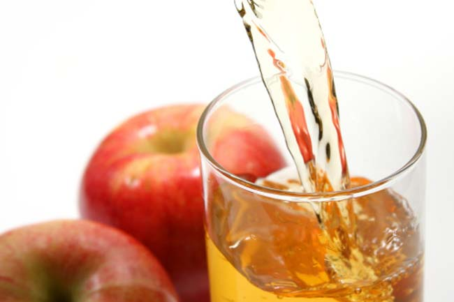 Apple Juice and Apple Cider Vinegar