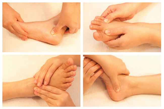 रिफ्लेक्सोलॉजी पैर की मसाज नहीं