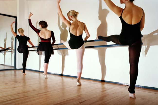 बैले बेरे क्लास (Ballet Barre Class)