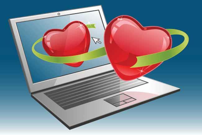 इंटरनेट पर प्यार वाले गेम खेलना