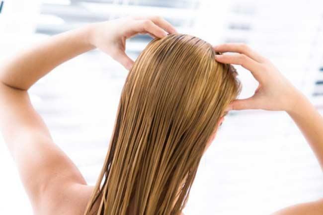 बालों का मसाज