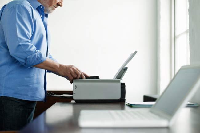 प्रिंटर से प्रिंट लेना