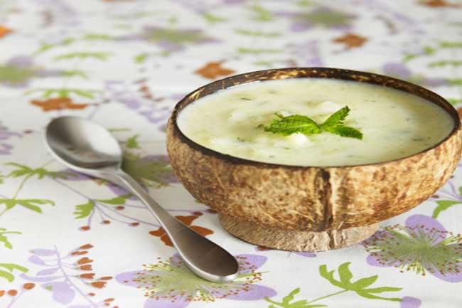 फ्रूट सूप पियें