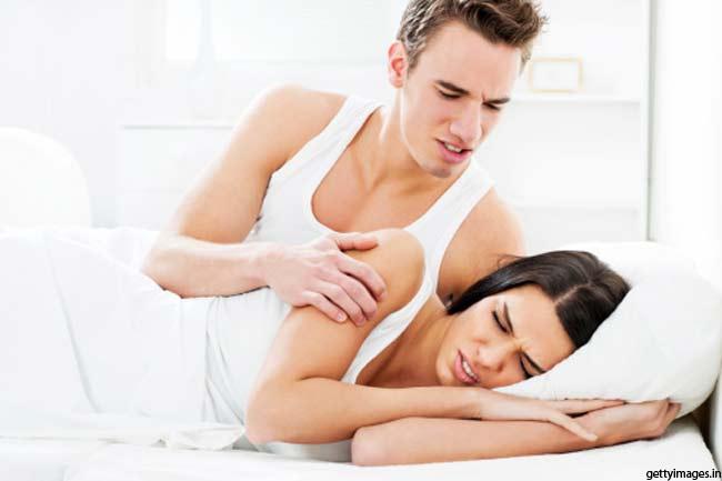 सेक्स के दौरान दर्द का अहसास