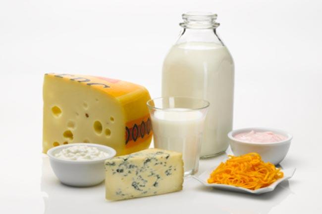 दूध और नमकीन