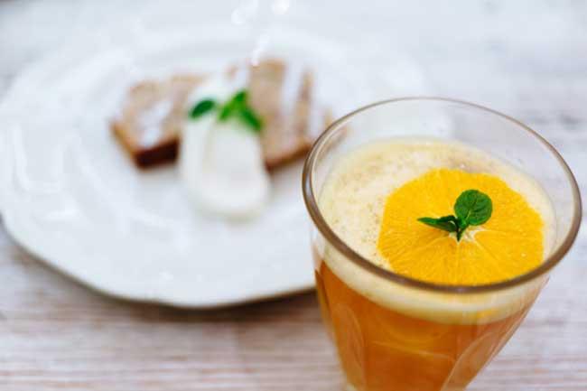 संतरे की चाय