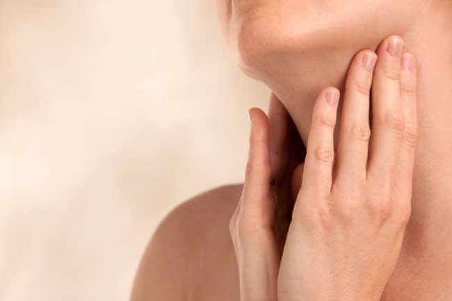Avoid Touching Lining of Throat