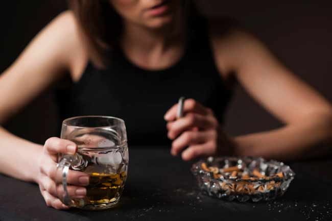 शराब और धूम्रपान