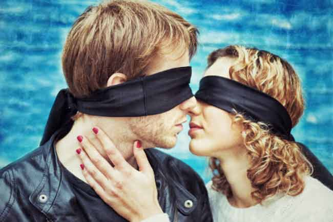 Blindfold your Partner