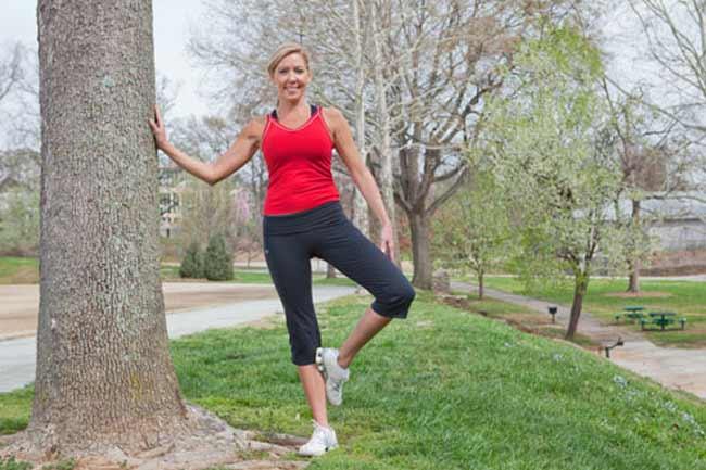 Balancing on One Leg