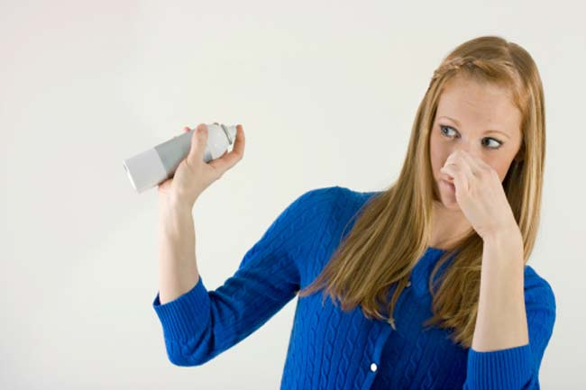 सुगंध के प्रति संवेदनशीलता