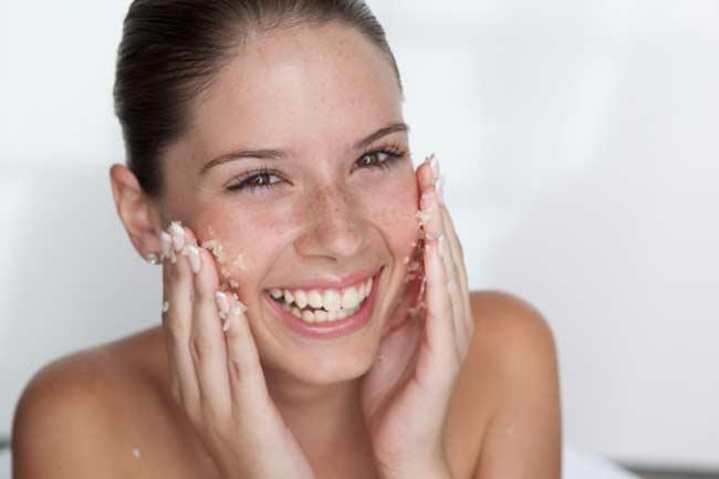 त्वचा को एक्सोफिलिएट करना