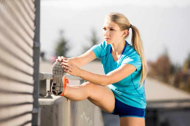 व्यायाम कीजिए