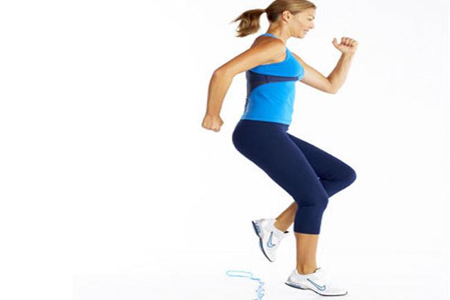 तेजी से पैर चलाना (Fast feet)