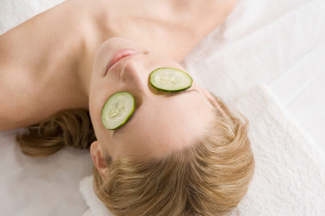 Cucumber Soaked Eye Pads